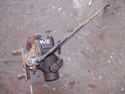 Allis Chalmers Wc Ac Tractor Engine Motor Zenith Carburetor Assembly Linkage R