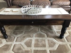 Coffee tables - solid wood, like new condition!