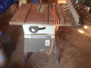 Solid Rockwell table saw