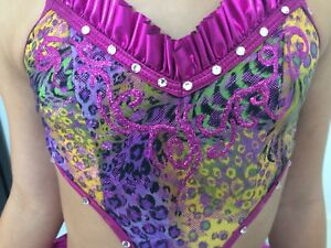 Handmade Jazz Competitive Dance Costume