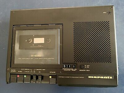 Marantz PMD221 Portable Mono Cassette Recorder NOS NEW OLD STOCK