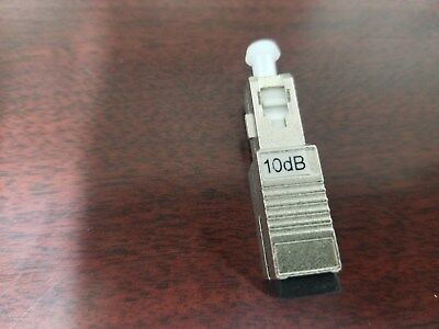 10dB Fixed Optical Attenuator SC/UPC,SM NEW!