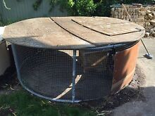Extra Large Rabbit Hutch,guinea pig Chicken cage Round shape Lidcombe Auburn Area Preview