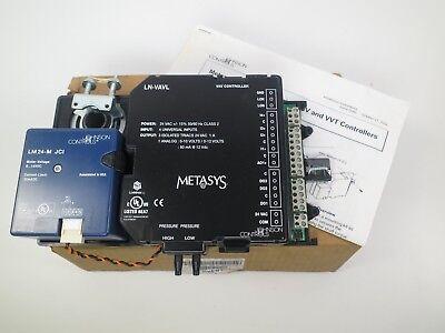 Johnson Controls Ln-vavl-0 Vav Controller W Actuator Sensor Metasys 24 Vac
