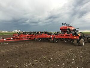 Case ih flex hoe 700 air drill case ih 580 air cart