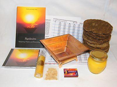 Agnihotra Start Set – komplett - zusätzlich mit Agnihotra Buch