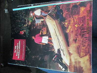 1998 QUICKSILVER INFLATABLE BOAT BROCHURE-CATALOG
