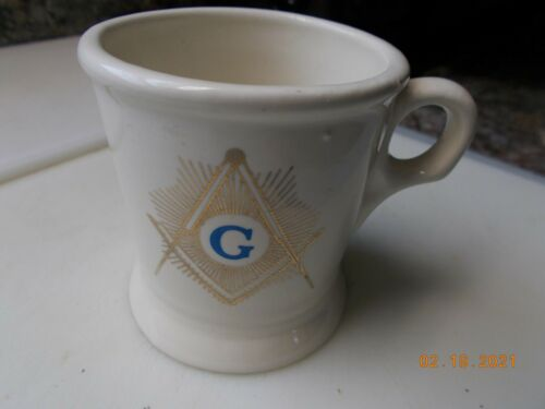 Masonic Square & Compass Mug,  Unbranded, Excellent Condition