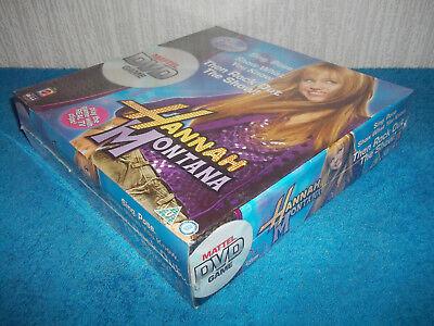DISNEY - HANNAH MONTANA - MATTEL DVD GAME - SING, POSE, PERFORM - NEW & SEALED