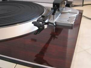 Vintage Turntable Denon High End Record Player Wood Retro Auto Melton Melton Area Preview