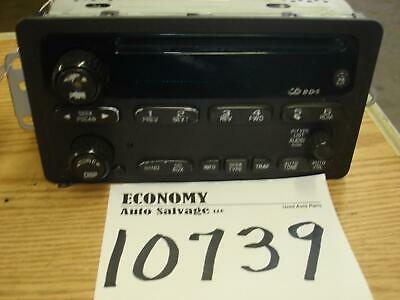 CHEVROLET IMPALA A/V Equipment AM-mono-FM-CD player (option UN0) 02 03 04 05
