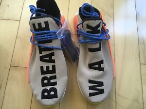 Human Race NMD Pale Nude Pharrell Size 11.5 DS