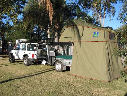 Howling Moon Roof top Tent + Extra Annex & Awning Thornlands Redland Area Preview