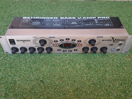 Behringer Bass V Amp Pro Rackmount Effects and Cab Simulation