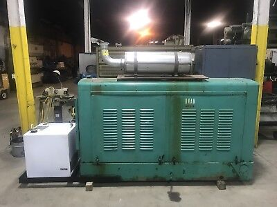 Onan 75 Dyc 75 Kw Commercial Industrial Generator Diesel Allis Chalmers Low Hour
