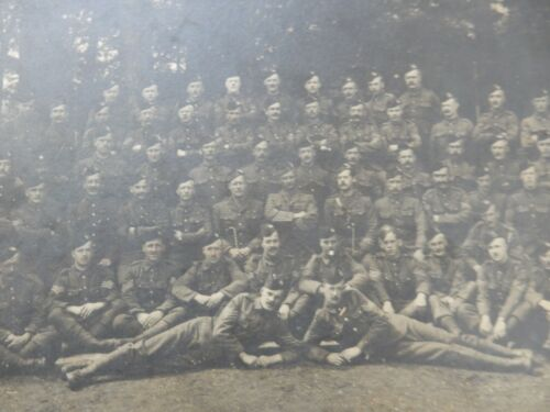 Sergeant HIGHLANDERS  galore !   WW1  ERA   WITH CO.  HEROS HERE !? big  PHOTO