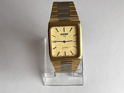 Vintage Tissot 125 Quartz Men's GP/Steel Bracelet Watch. Cal 2032