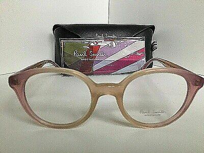 New Paul Smith PM 8197 1366 Ellane 49mm Round Pink Eyeglasses Frame