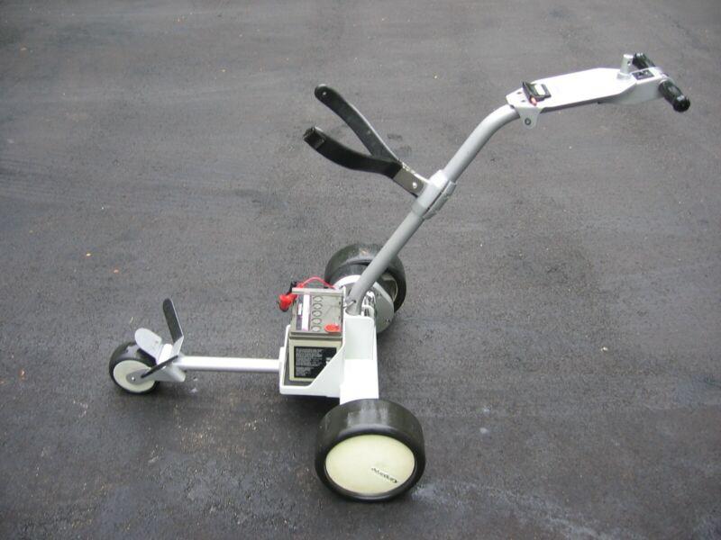 Kangaroo Hillcrest AB Caddie Electric Motorized Personal Golf Cart Caddy