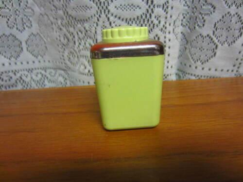 Vintage-Single Salt or Pepper Shaker-Sterilite-Green-USA