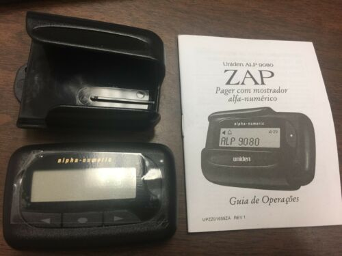 UNIDEN ALPHA PAGER MODEL ALP9080. BRAND NEW