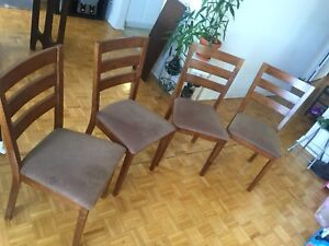 4 chairs for sale! Great price!!