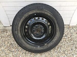 Michelin X-Ice winter tires and rims (x4) - 225/60R16