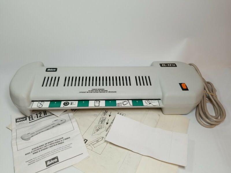 Ibico EL-12 II Commercial Laminator Lamination Machine 120V 7A Tested Works