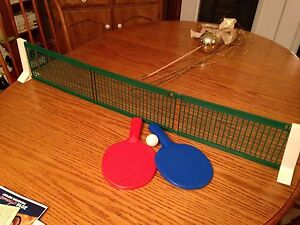Portable table tennis/ping pong