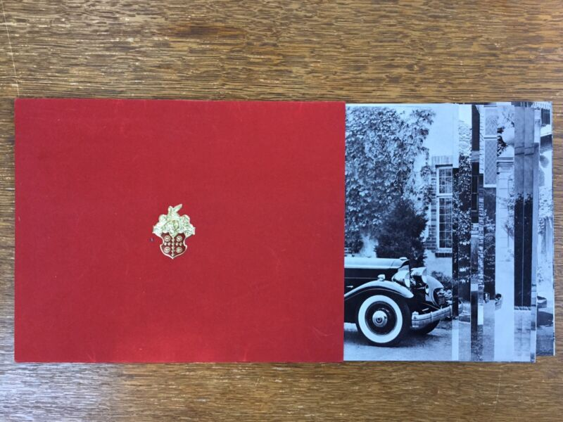 1932 Packard Twin Six Dealer Photo Collection Or V12 Brochure