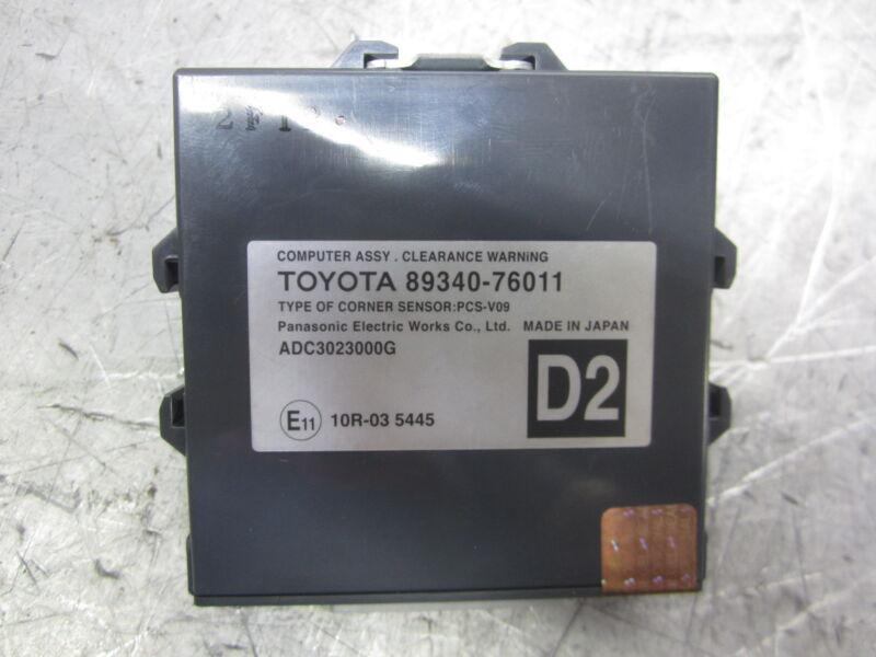 Toyota Lexus CT200H Abstandswarnung Abstandswarner Modul Steuergerät 89340-76011