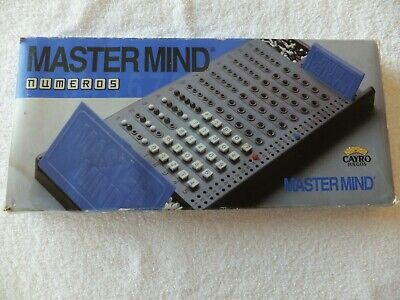 Mastermind, Numbers (Numeros) - Cayro Juegos - Board Game for sale  Shipping to Nigeria