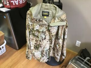 New cabela's camo jacket size XL