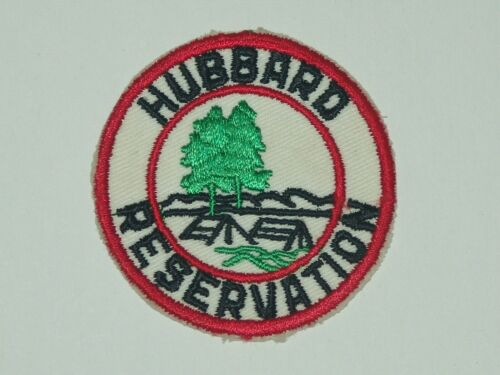 Hubbard Reservation red cut edge patch
