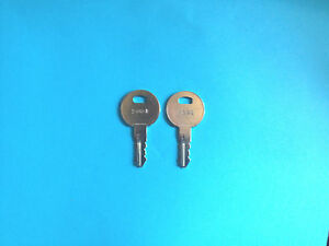 2-Trimark-Motorhome-Precut-Code-Keys-2001-Travel-Trailer-Camper-RV-Lock-Keys