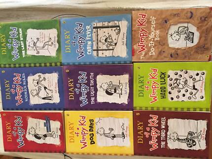 Diary wimpy kid set in new south wales gumtree australia free kinney diary of a wimpy kid books 1 8 do it yourself solutioingenieria Choice Image