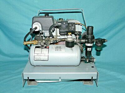 Jun-air Model 3-1.5 Air Compressor 12 Bar 230v - Works - Missing Filter Bottom