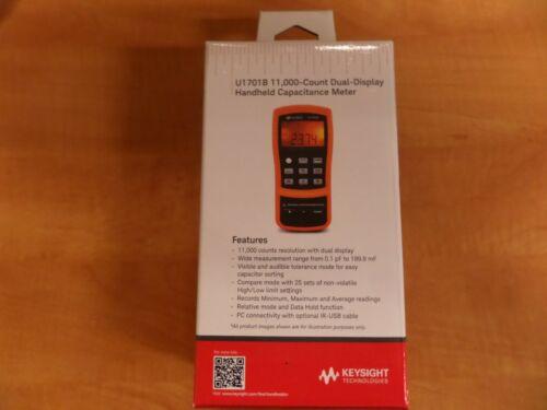 Keysight U1701B Dual-Display handheld Capacitance meter NEW IN BOX