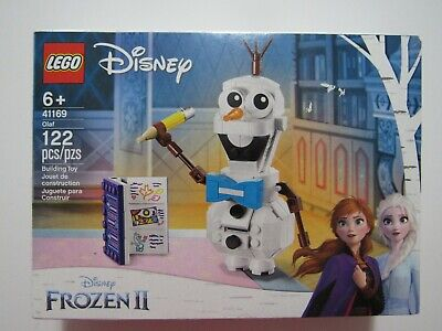 LEGO Disney Frozen II Olaf 41169 122 Pieces New Sealed