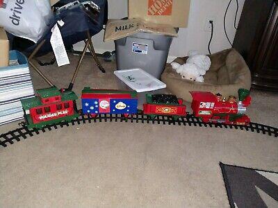 Mickey Mouse Christmas Train Set (READ THE DESCRIPTION)