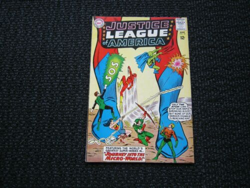 Justice League of America #18 - 1963, VF-