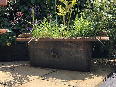 garden planters Cast Iron Horse troughs Vintage