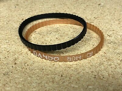 Bando 80H GI rubber belt for massage motors for King Kong Massage Chairs.