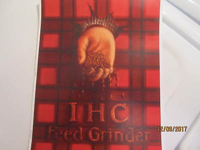 1910s International Harvester Feed Grinders Catalog Manual Gas Engine Too