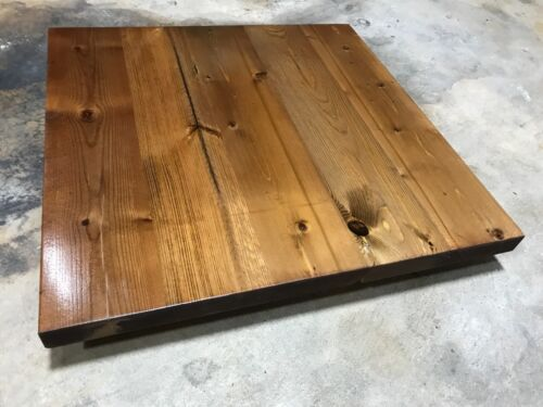 Rustic Reclaimed WOOD Square Table Bar Restaurant Farmhouse Rustic Shabby Chic