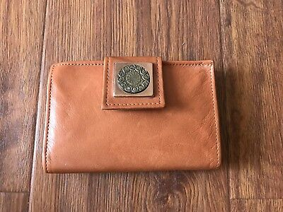 ROLFS Cowhide Leather Vintage Clutch Coin Purse with Zodiac Signs
