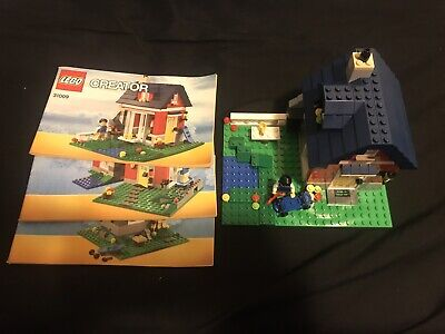 LEGO Creator Small Cottage (31009) USED Complete W/Manuals