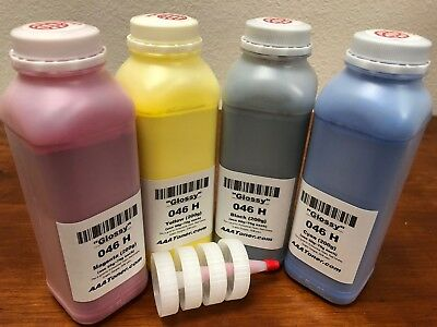 (Size) GLOSSY 4 Toner Refill for Canon 046 H, MF731/732/733/734/735/LBP653/654