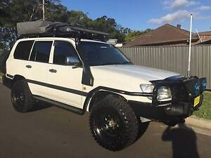 2004 Toyota Landcruiser 100 series Turbo Diesel Yagoona Bankstown Area Preview