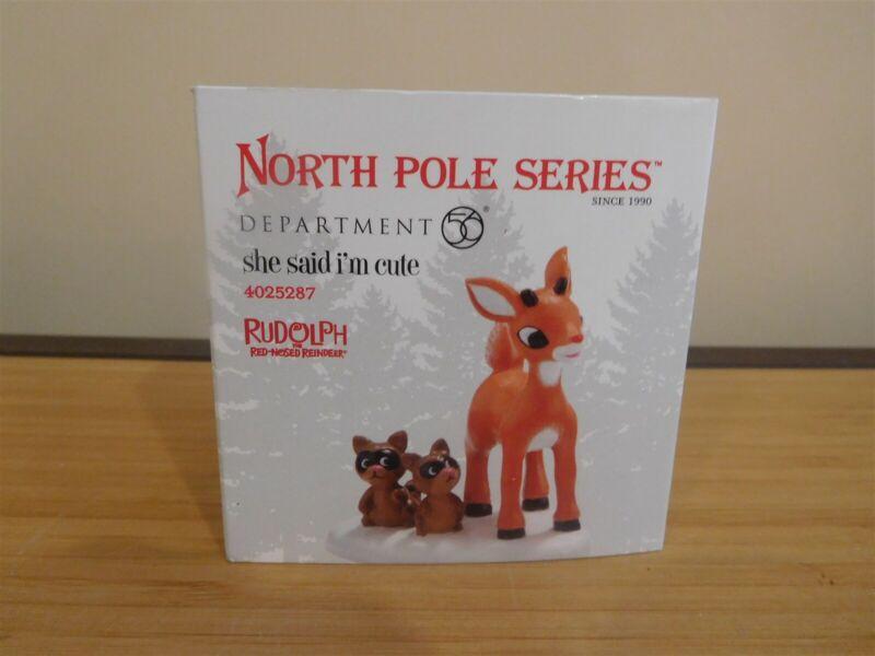 Dept 56 North Pole Accessory - She Said I
